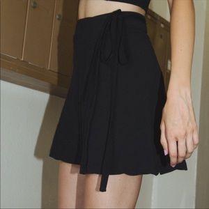 Brandy wrap skirt